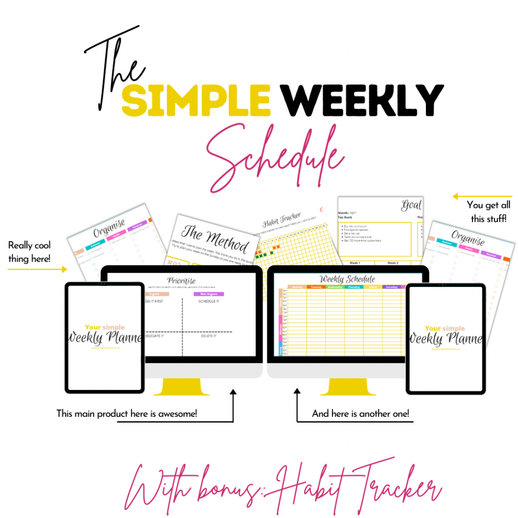 How to create a simple weekly routine for the family